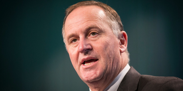 Prime Minister John Key is set to make a significant announcement on family violence law changes. Photo by Greg Bowker, NZ Herald.