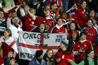 The Barmy Army followed the Lions in 2005 and is set to return next year. Photo / NZME