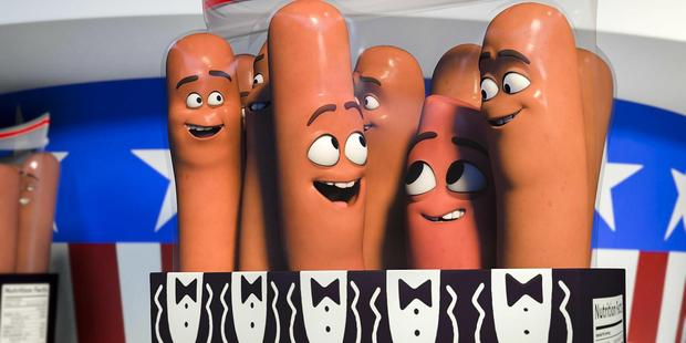 Sausage Party film. Supplied.
