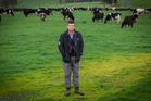 Craig Maxwell on his dairy farm in Paparimu, Auckland. Photo / Regan Schoultz
