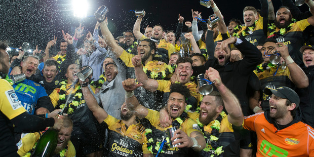 The Super Rugby champions could soon face off with a northern hemisphere club. Photo / Mark Mitchell