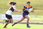 FINAL FLOURISH: Bay of Plenty Volcanix player Autumn-Rain Stephens and her side aim to end 2016 Farah Palmer Cup on a high.