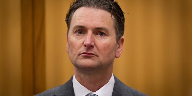 Quinton Paul Winders, 45, found guilty of murdering George Taiaroa, 67, at the High Court in Rotorua. Source / Stephen Parker.