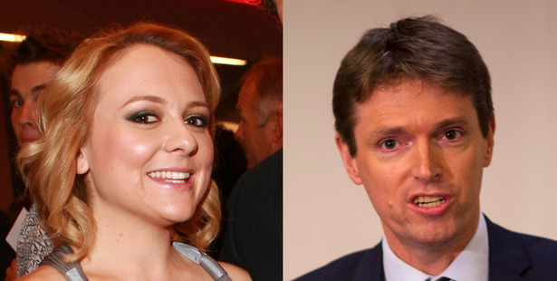 Rachel MacGregor and Colin Craig. Photo / Supplied