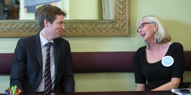 Colin Craig said today that Christine Rankin told him she had seen his texts and poems sent to MacGregor. Photo / Brett Phibbs