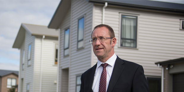 Loading Labour Party leader Andrew Little's attacks on National over housing have not paid off, according to the latest poll. PHOTO/ Nick Reed.
