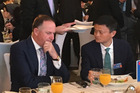 PM John Key with Alibaba founder Jack Ma in Beijing in April this year. Photo/Murray Holdaway