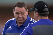 Steve Hansen agreed with some of the claims made by England coach Eddie Jones. Photo / Brett Phibbs