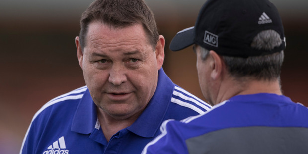 Loading Steve Hansen agreed with some of the claims made by England coach Eddie Jones. Photo / Brett Phibbs