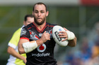Simon Mannering winning a fifth Warriors Player of the Year award is a slight on the rest of the squad, according to Tony Veitch. Photo / New Zealand Herald