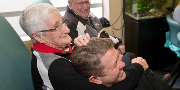 Never work with the elderly - David Cunliffe knows it. Photo / Mark Mitchell