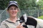 Hamilton Zoo curator Samantha Kudeweh. Photo / Facebook