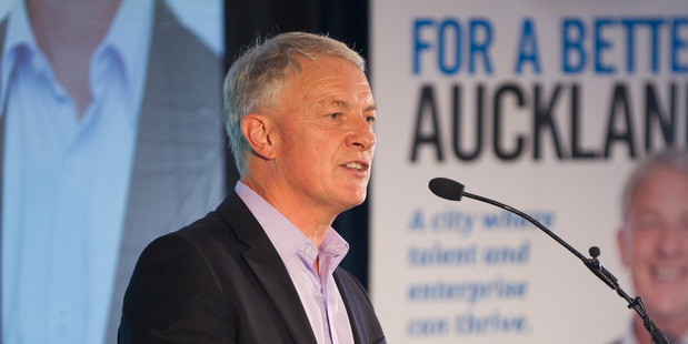 Phil Goff leads the latest poll for the Auckland mayoralty. Photo / Nick Reed