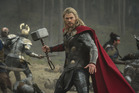 Chris Hemsworth, also Thor, was spotted in Whangarei.