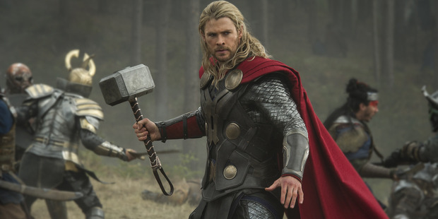 Chris Hemsworth, also known as Thor, was spotted in Whangarei today. If it wasn't him it was a convincing lookalike also named Chris.