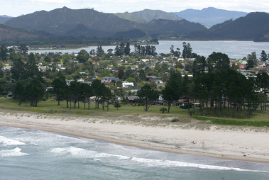 The man was overdue to return to Auckland after visiting his Pauanui beach house. Picture / Alan Gibson
