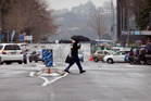 Keep a brolly handy for the next few days as rain and showers come and go from most parts of the country. Photo / NZME