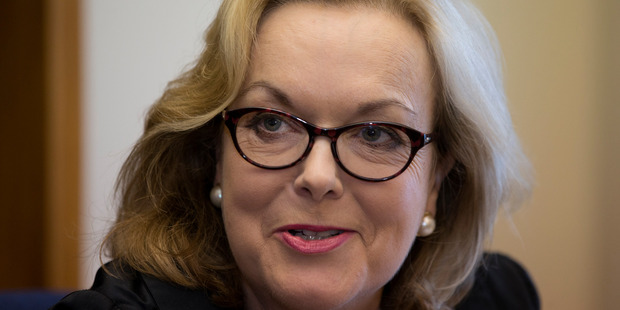 Police and Corrections Minister Judith Collins. PHOTO/ Mark Mitchell