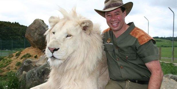 Craig Busch in his days running Zion Wildlife Gardens near Whangarei. Photo / File
