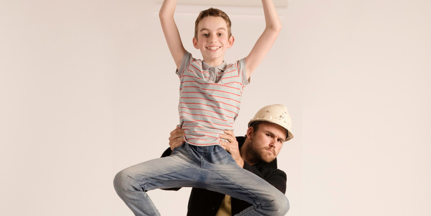 Young Ben Shieff gets a helping hand in Billy Elliot The Musical.