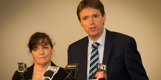 Colin Craig and his wife Helen. Photo / File