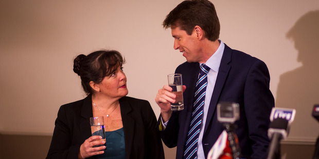 Former Conservative Party leader Colin Craig and wife Helen. Photo / Dean Purcell
