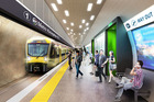 CRL Auckland City Rail Link Karangahape Rd station May 2016 K' Rd Station picture supplied by AT ( Auckland Transport ) NZH 09Jul16