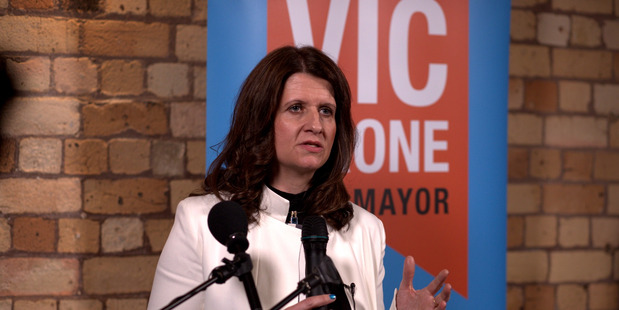 Auckland Mayoral candidate Vic Crone said her comments on climate change were blown out of proportion. Photo / Dean Purcell