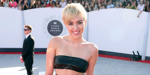 How sure can we be that this is really the real Miley Cyrus? Photo / AP