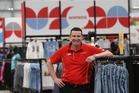 The Warehouse store manager Duncan Gardiner is primed and ready for opening of a new Tauranga store, one of the first shops to open as part of a $50 new shopping centre at Tauriko. PHOTO/JOHN BORREN