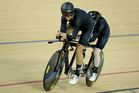 Northland's Emma Foy and Laura Tompson were unable to replicate their silver medal on the track, finishing fourth in the time trial. Photo/Photosport.nz
