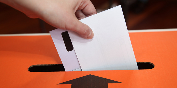 All resident electors and non-resident ratepayers whose name appears on the parliamentary electoral roll gets to vote. Photo / Getty Images