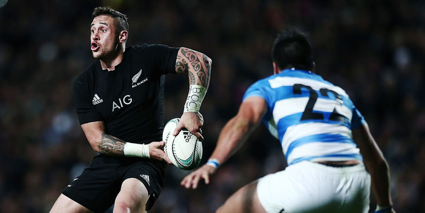 Loading TJ Perenara of New Zealand in action during the Rugby Championship match between the New Zealand All Blacks and Argentina. Photo / Getty Images.
