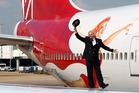 Virgin Atlantic boss Sir Richard Branson says it's a game changer. Photo / AP