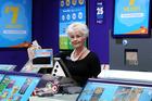 Unichem Stortford Lodge Lotto manager Nanette Woodham. Photo / Paul Taylor
