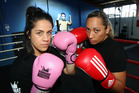 Chloe Katene (left) and Te Mahia Raureti will meet in the ring on Saturday. Photo / Paul Taylor
