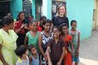 Juliet Rowan meets ambitious kids in the Kusumpur Pahari slum. Photo/Chris Chang