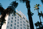 The Hollywood Roosevelt hotelin California.