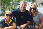 Tutukaka Coast Winter Festival organisers  Kate Malcolm (left), Nick Keene and Mel Miller.
