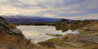 Sutton Salt Lake, Middlemarch. Photo / Lynore Templeton