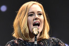 Adele will reportedly take a lengthy break from touring following the end of her Adele Live 2016 tour in November to bring up her son, Angelo. Photo / Getty Images