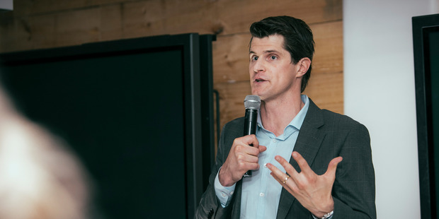 WeAreTenzing co-founder Sam Hazledine. Photo / Supplied.