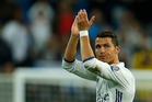 Real Madrid's Cristiano Ronaldo applauds to supporters following their 2-1 Champions League win over his former club Sporting Lisbon. Photo / AP