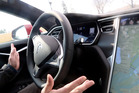 Tesla has moved to give its radar tech a more active role in its car autopilot. Photo / Jhaan Elker