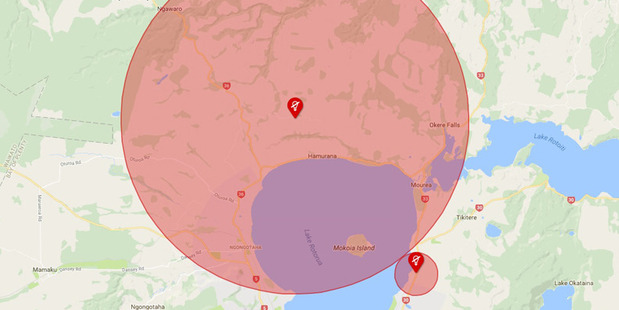 Around 2000 customers were without power in Rotorua this morning.