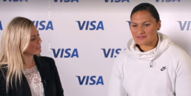 Loading Watch two-time Olympic champion and Rio silver medallist Valerie Adams talks to NZME's Laura McGoldrick.