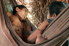 Two women from the endangered Awá tribe from the Brazilian Amazon. Photo / Survival International via Washington Post