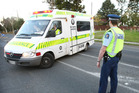 Two ambulances, police and fire service attended the crash. Photo / File Photo / hoto