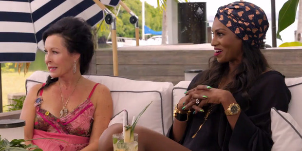 And the pure delight on Michelle's face when Angela admits she had an affair at 17.