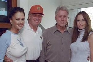 When Kiwi model met Trump, Clinton
